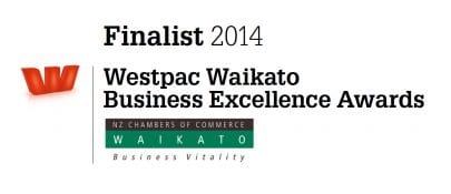 Waikato Business Excellence 2014 Finalist.