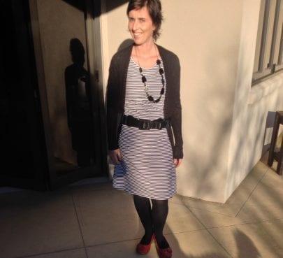 Franny in Stripelicous Dress