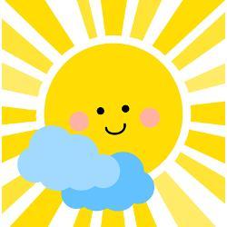 cute_sunshine_shower_curtain