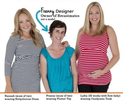 Franny with Maternity Models