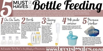 Five Must Haves for Bottlefeeding
