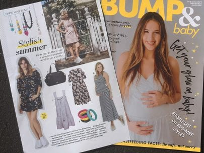 Dress Your Bump - (Bump and Baby Magazine)